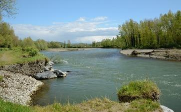 Travaux de rivière