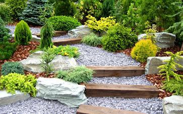 Création d'allée de jardin
